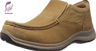 Mens leather boat shoes