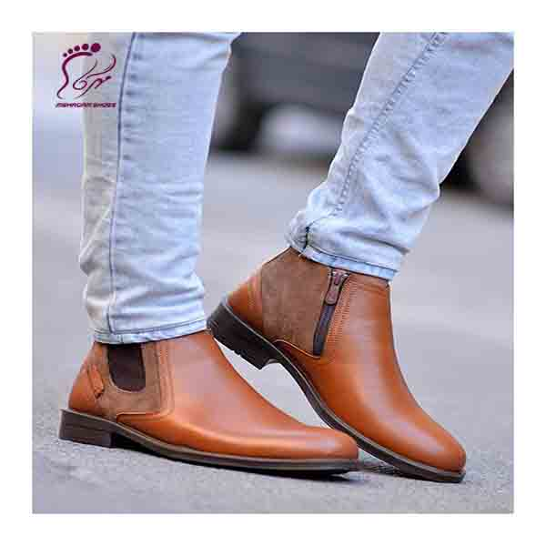 Mens leather medical shoes