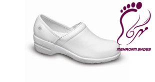 Iranian medical leather shoes